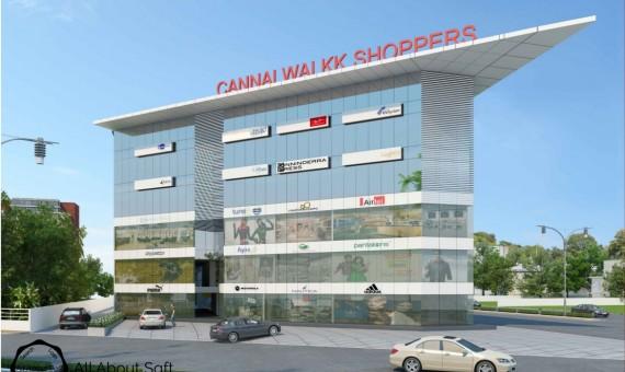 Cannal Walkk Shoppers